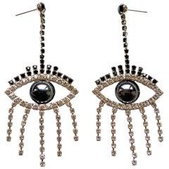 Mirrored Good Luck Earrings / As seen on Demi