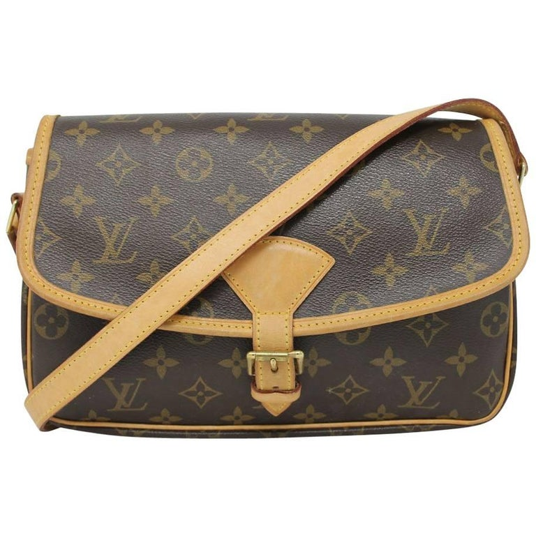 Louis Vuitton Sologne Messenger Crossbody Bag with dust bag