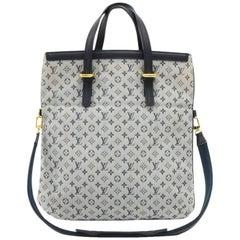 Louis Vuitton Francoise Khaki Mini Monogram Canvas 2 way Hand Bag