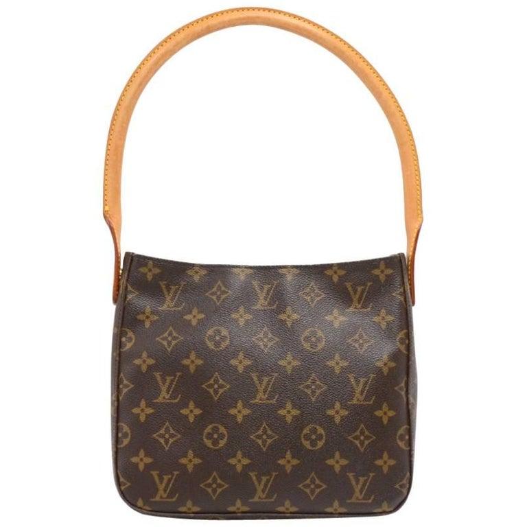 Louis Vuitton Looping MM Monogram Canvas Handbag