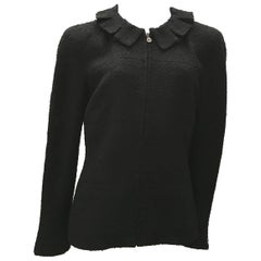 Chanel Black Boucle Jacket