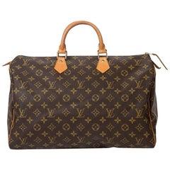 Louis Vuitton Speedy 40 in brown monogram canvas