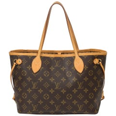 Louis Vuitton Neverfull PM in brown monogram canvas