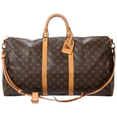 Louis Vuitton Keepall Bandouliere 55 in monogram canvas