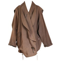 Issey Miyake Vintage Heavy Cotton Oversized Jacket