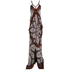 Tom Ford for Gucci Bandana Maxi Dress, circa late 1990s early 2000s