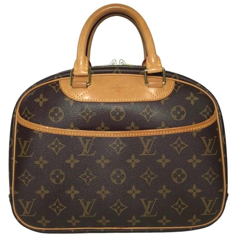 Louis Vuitton Monogram Trouville Hand Bag