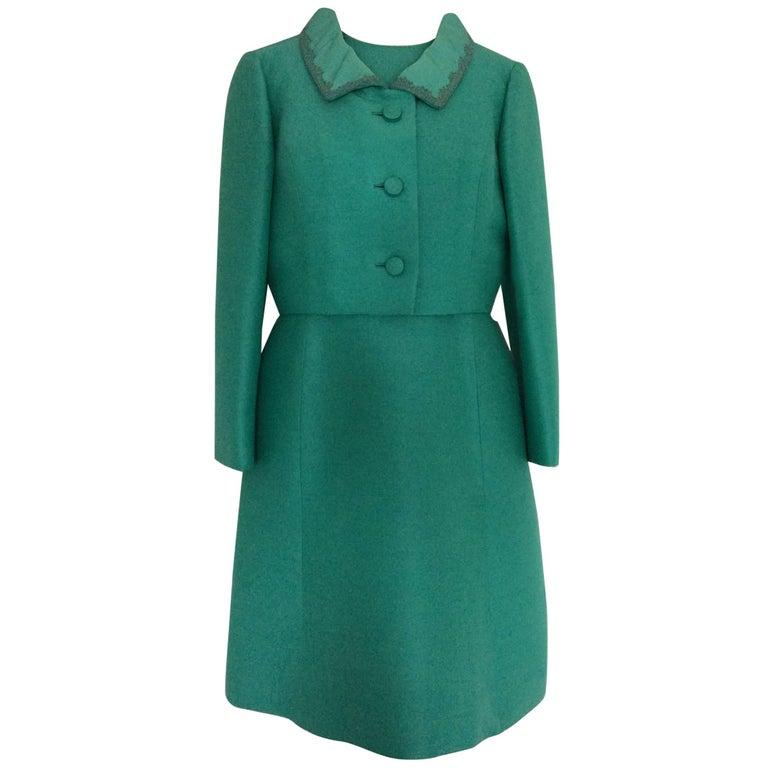 Vintage 1960's Petite Francaise shift dress and jacket