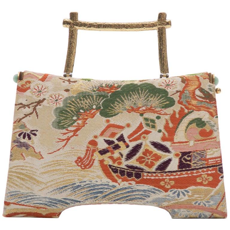 Natori Jacquard Woven Evening Bag