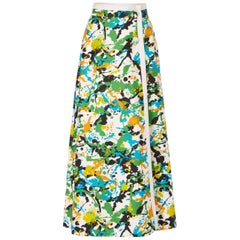 Malbe, paint wrap skirt, circa 1964