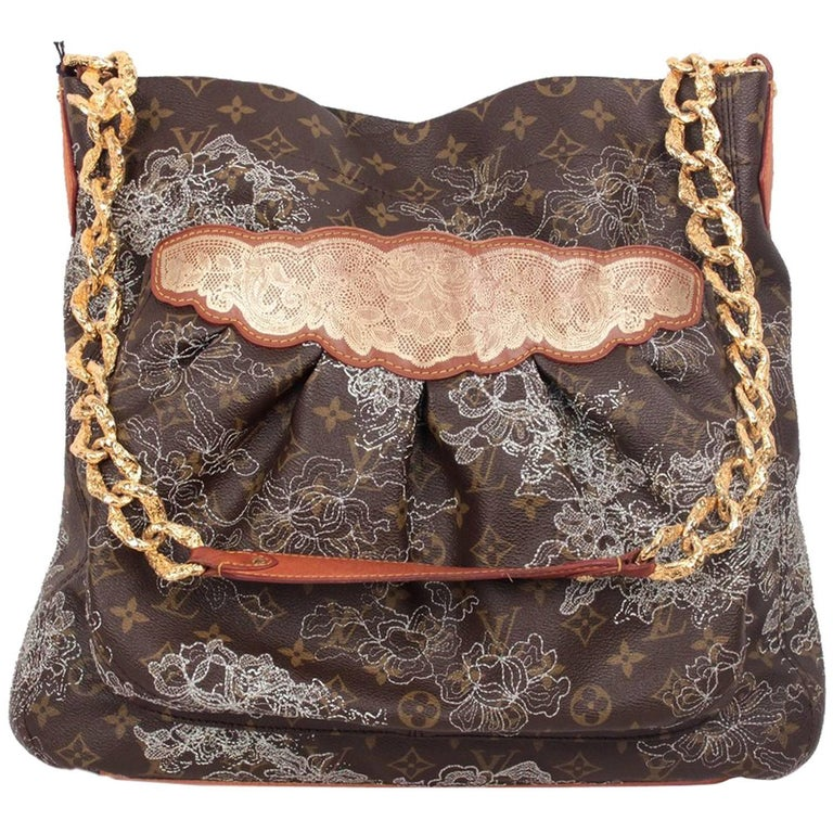 LOUIS VUITTON Limited Edition DENTELLE FERSEN Shoulder Bag