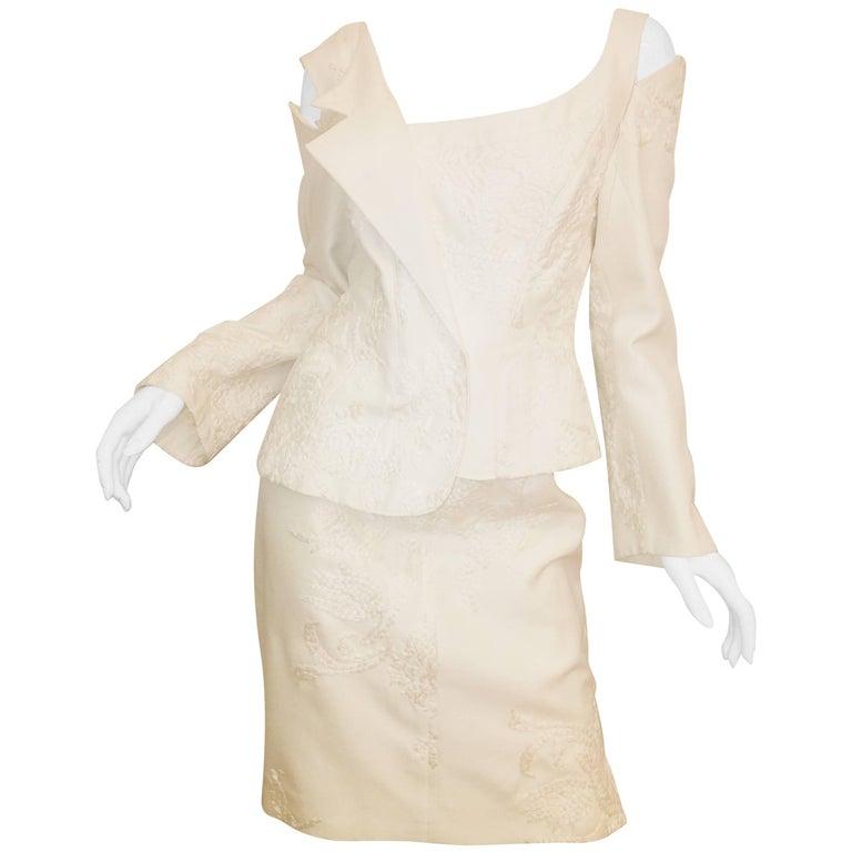 Christian Lacroix 2 Piece Skirt Suit