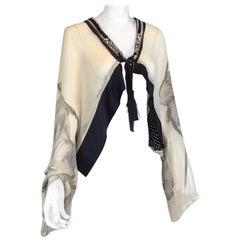 Antonio Marras Art to Wear Shrug / Shawl Top
