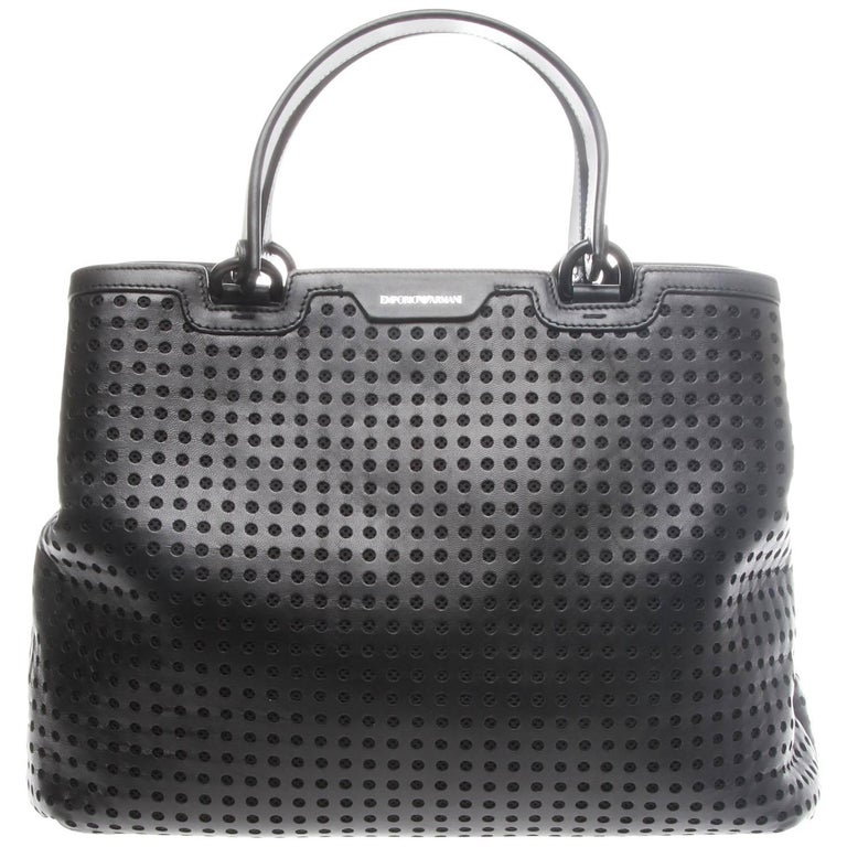Emporio Armani Perforated Shopper