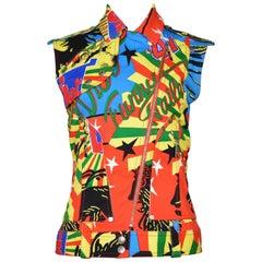 Christian Dior by John Galliano Bob Marley Reggae Theme MC Vest 2003