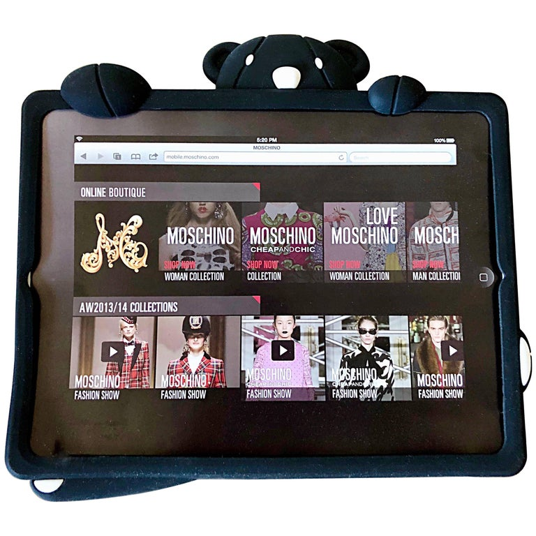 Limited Edition Moschino Sold Out IPad 2, 3 , 4 Case Panda Bear Rare Novelty