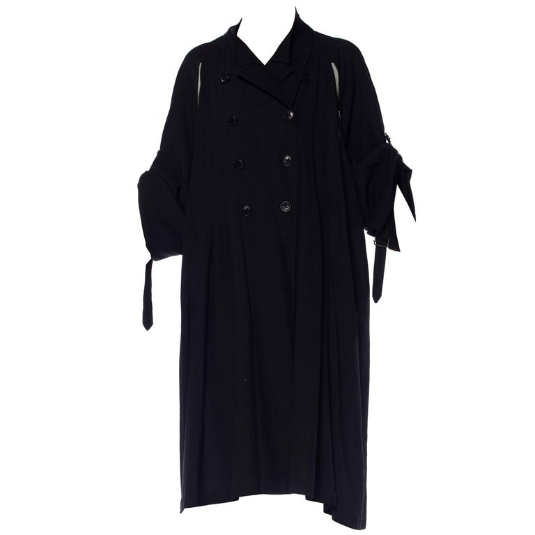 Ann Demeulemeester Convertible Trench Coat