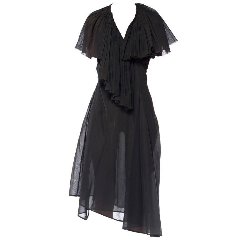 Dries Van Noten Washed Cotton Wrap Dress
