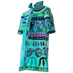 1960s Pucci Terry Cloth Aprés-Pool Dress