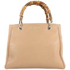 Gucci Bamboo Shopper Tote Leather Small