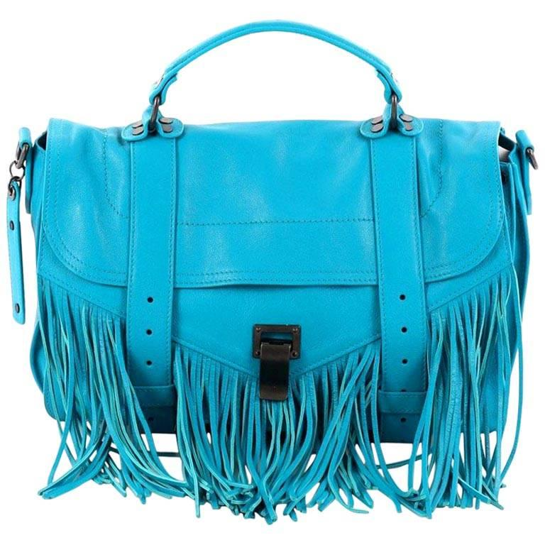 Proenza Schouler PS1 Fringe Handbag Leather Medium