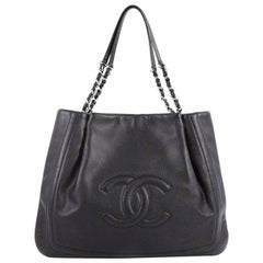 Chanel Timeless Chain Tote Caviar Large