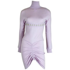Alexander McQueen 1996 Collection Wool Knit Dress