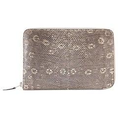 Hermes Azap XL Combination Wallet Ombre Lizard