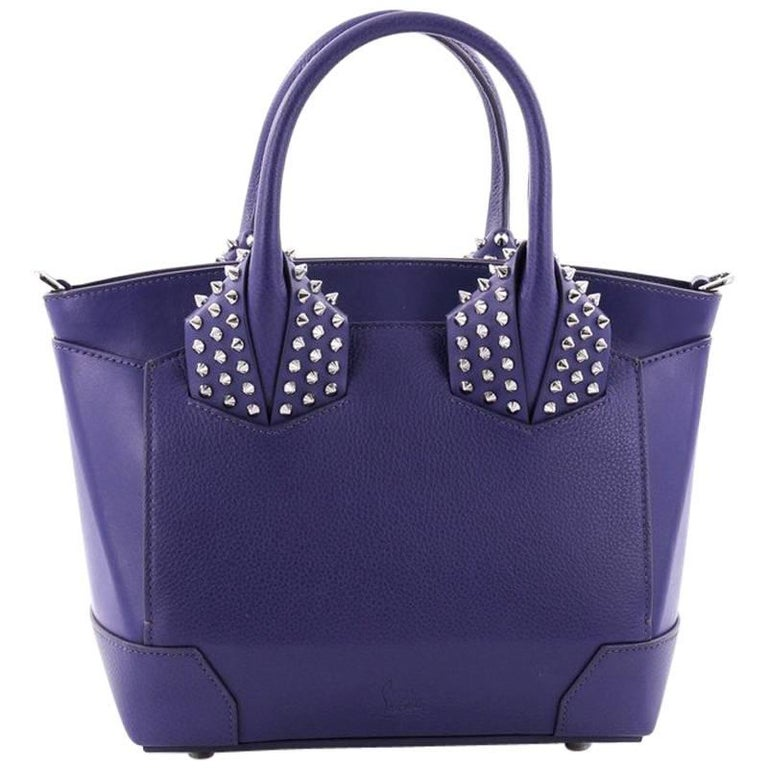 8b73d6fc0a9 Christian Louboutin Eloise Satchel Spiked Leather Small