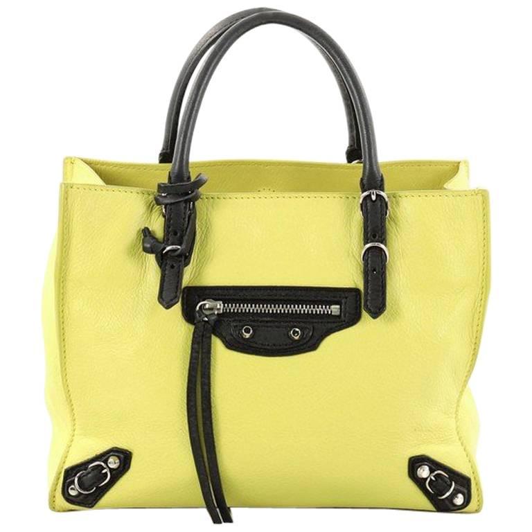 Balenciaga Papier A4 Classic Studs Handbag Leather Mini