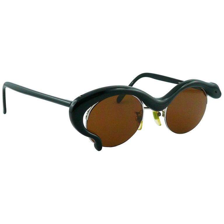 Yohji Yamamoto Vintage Snake Sunglasses Model 52-5001