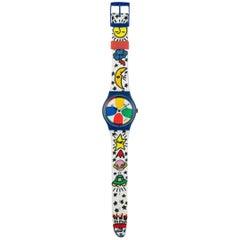 1992 Swatch Pop Art Clock 7 Feet by J.c. de Castelbajac
