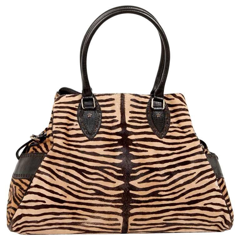 FENDI Bag In Goat Skin With A Zebra Pattern For Sale