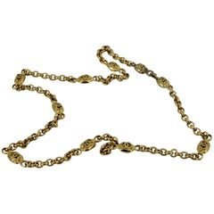Chanel Vintage Belt and/or Necklace in Gold Plated Metal