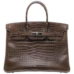 Hermès Alligator Birkin Cocoan 35