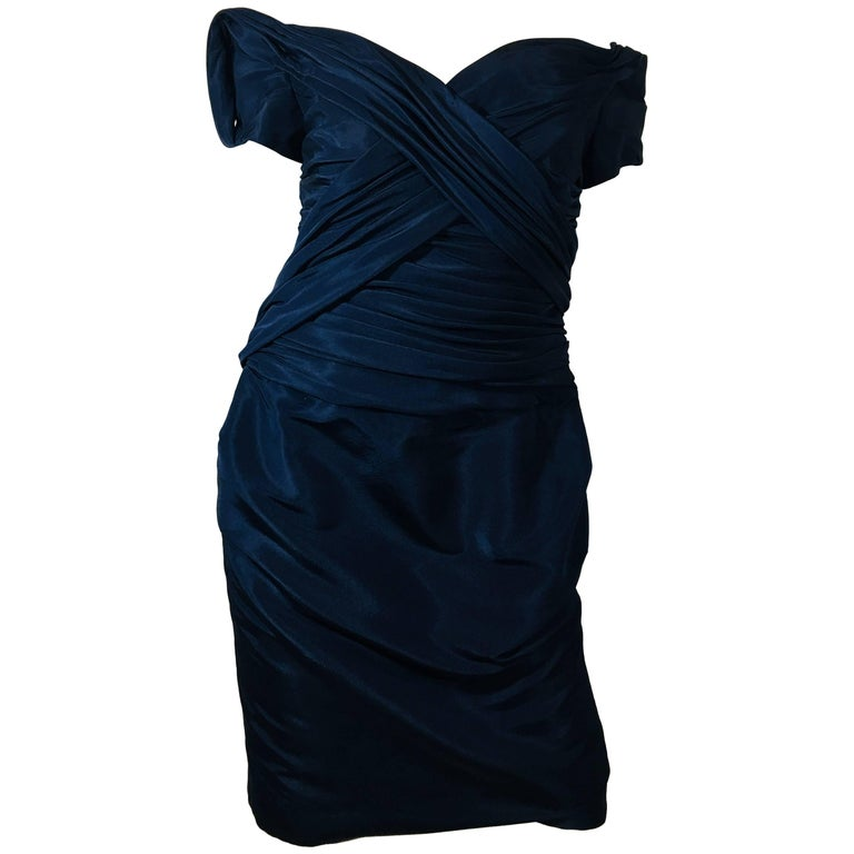 Carolina Herrera Off the Shoulder Dress