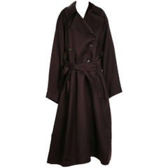 Alaia Double Breasted Oversized Wool Coat