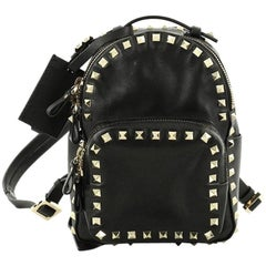 Valentino Rockstud Backpack Leather Mini