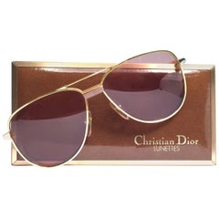 Christian Dior Monsieur Titanium Gold Optyl Germany Sunglasses