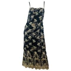Collette Dinnigan Sheer Dress with Slip