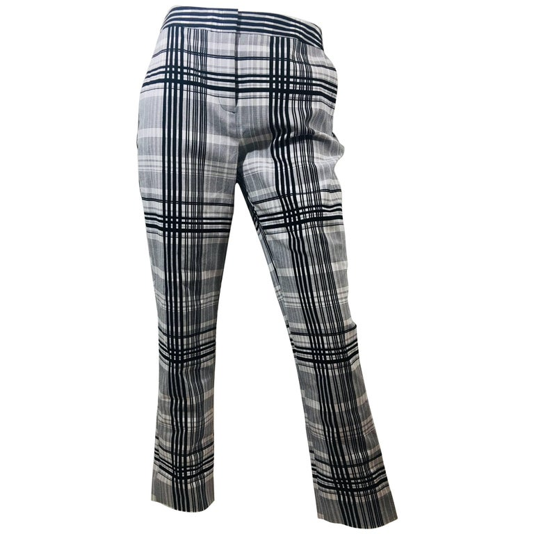 Diane Von Furstenberg Plaid Pants