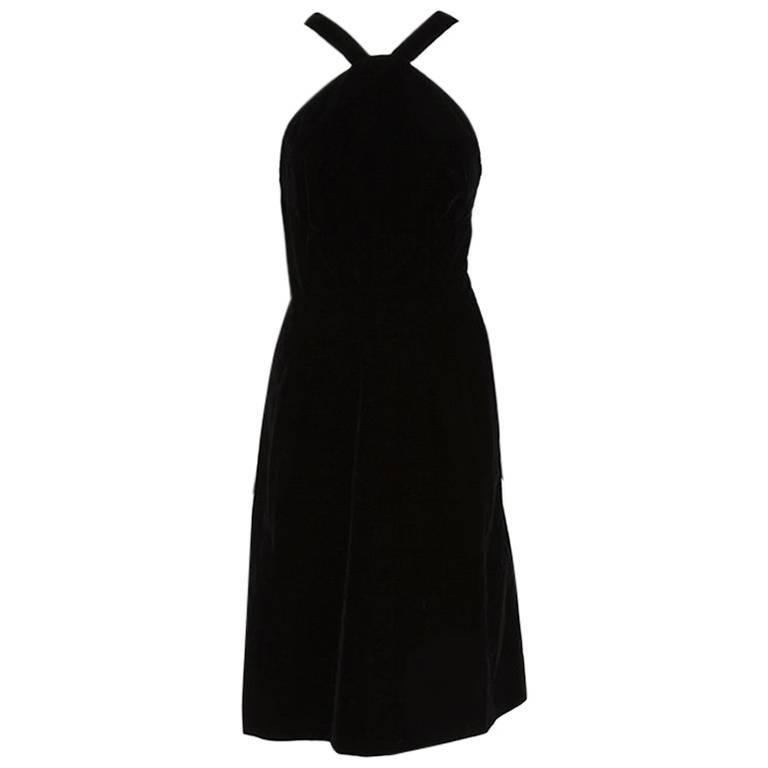 Christian Dior Velvet Dress