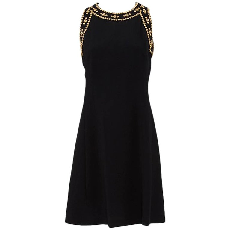 Pierre Balmain Studded Dress For Sale