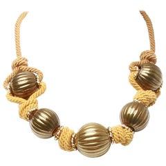 Lanvin Collier Court Evening Choker Necklace
