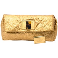 Louis Vuitton Gold Clutch Altair