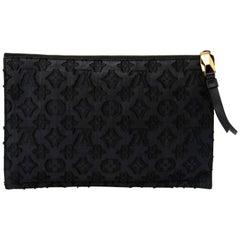 Louis Vuitton Limited Edition Monogram Fabric Clutch Pochette