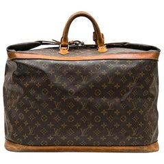 Louis Vuitton Vintage Travel Bag in Brown Monogram Canvas