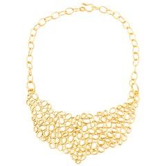 Giulia Barela Air Gold Plated Bronze Necklace