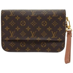 Louis Vuitton Vintage Orsay Monogram Canvas Clutch Bag