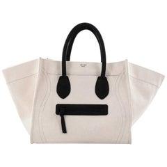 Celine Phantom Handbag Canvas